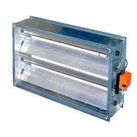 Клапани регулюючі для прямокутних повітроводів, фото 2