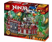 """Конструктор Ninja Lele 31011 (аналог Lego Ninjago) """"Осада крепости Ву"""", 1193 детали"""