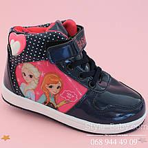 Демисезонные ботинки для девочки Disney Эльза р. 25, фото 3
