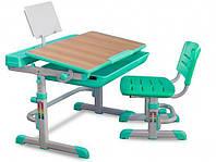 Комплект парта и стульчик Evo-kids Evo-04 клен XL