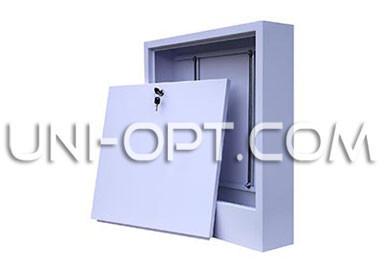 Коллекторный шкаф (накладной) для теплого пола на 10-12 выходов