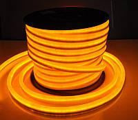 Гибкий LED неон, 220v, ip68, Желтый
