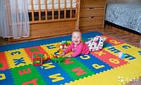Игровой коврик пазлы – Мозаика «Веселая головоломка»
