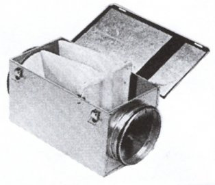 Фильтр кассетный круглый (ФККП)