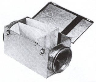 Фильтр кассетный круглый (ФККП), фото 2