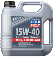 Масло моторное LIQUI MOLY SAE 15W-40 MoS2-LEICHTLAUF 4L