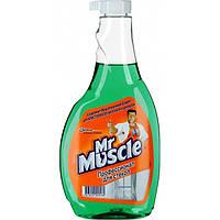 Мистер Мускул для стекол, с нашатырным спиртом,запасной блок, 500мл
