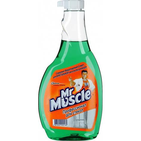Мистер Мускул для стекол, с нашатырным спиртом,запасной блок, 500мл, фото 2