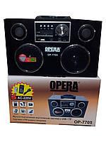 Радиоприемник — портативная акустика Opera OP-7705