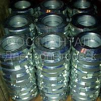 Гайки круглые шлицевые М24х1,5 оцинкованные ГОСТ 11871-88 производство ТАНТАЛ сталь 35