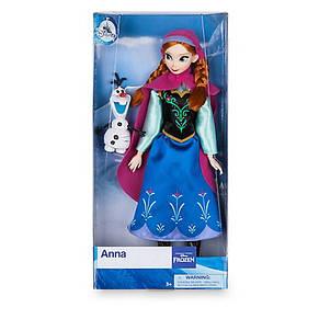 Кукла Анна и снеговик Олаф - Холодное сердце (Frozen) куклы Дисней - принцесса Anna with Olaf, фото 2