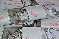 Обои виниловые, бабочки,  Баттерфляй С932-10Р, супер-мойка, 0,53*10м