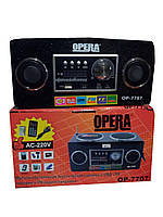 Радиоприемник - портативная акустика Opera OP-7707
