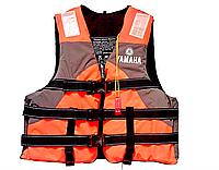 Страховочный-спасательный жилет YAMAHA, EVA, p-p L-2XL, оранжевый (YM-5501)
