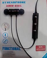 Беспроводные bluetooth блютуз стерео наушники AMW-810S