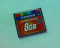 Карта памяти Compact Flash Transcend 8Gb 133x