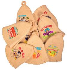 Шапки для бани и сауны с вышивками