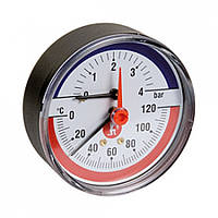 """Термоманометр. 20° ÷ 120°C. 1/2"""" 0-6 bar  Giacomini R226Y002"""