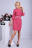 """Платье """"Франциска"""" бордово-розовый"""