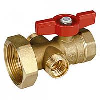 Шаровой клапан с выводом для термометра Giacomini R287Y005