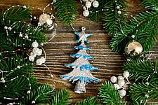 Новогоднее украшение Елочка объемная микс  0131, фото 3