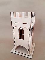 Заготовка для декупажа - чайный домик-крепость