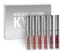 Набор матовых помад Kylie Holiday Edition