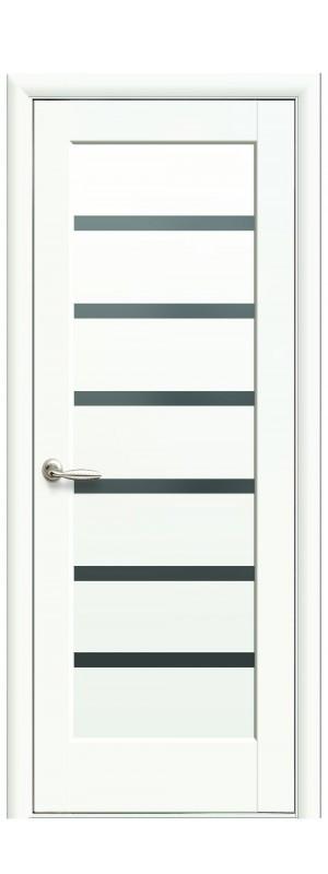 Двери межкомнатные Линнея BLK белый мат