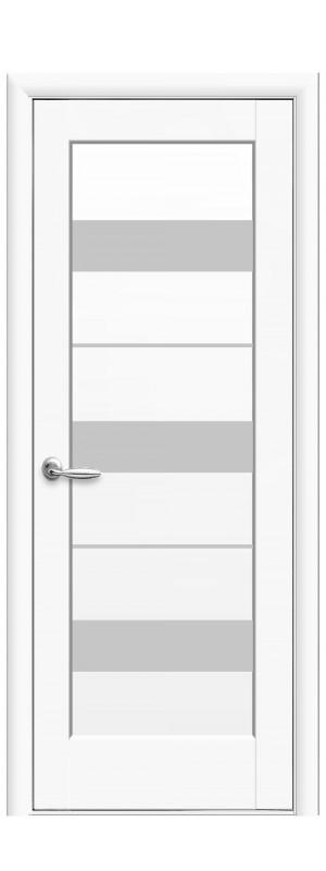 Межкомнатные двери Верона белый мат