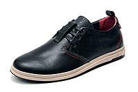 Туфли спортивные Levi's, мужские, натуральная кожа, черные р. 40 41 42 43 44 45