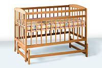 Деревянная кроватка-колыбель 1В28-2
