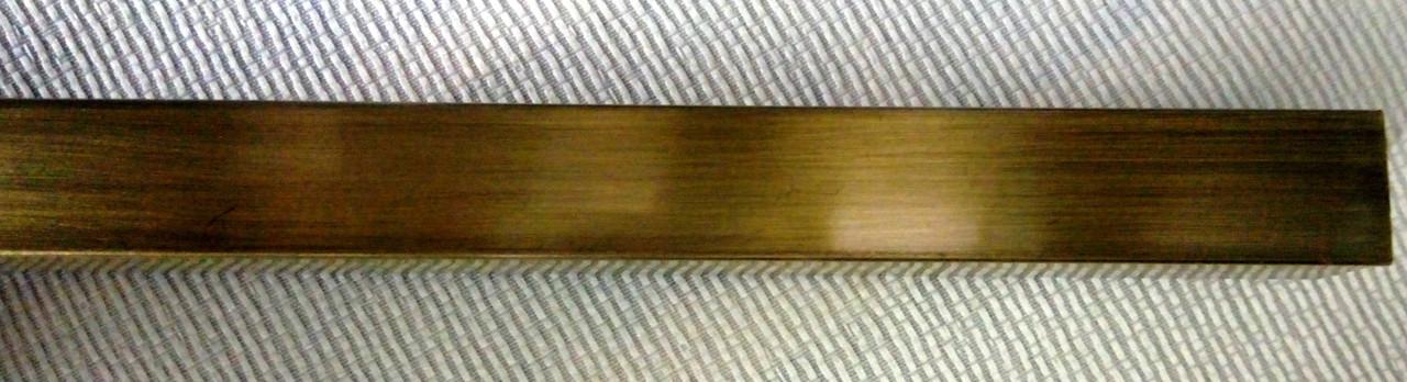 Труба 20х20 мм, 2,00 м, антик