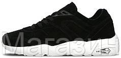 Женские кроссовки Puma Trinomic R698 Пума Триномик черные