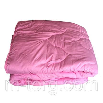 """Однотонное""Одеяло евро размер бамбуковое 200*220 ткань микрофибра, фото 2"