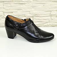 Туфли женские кожаные на каблуке. 36 размер