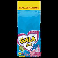 Стиральный порошок Gala, color 3 в 1, 9 кг