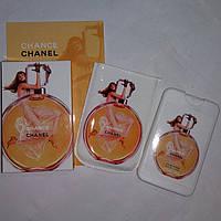 Духи (мини-парфюм) Chanel Chance 50 мл в стильном чехле с фотопечатью