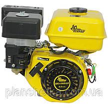 Двигатель бензиновый Кентавр ДВЗ-200БШЛ (шлицы,6,5 л.с., бензин, фильтр в масляной ванной), фото 3
