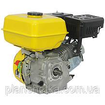 Двигатель бензиновый Кентавр ДВЗ-200БШЛ (шлицы,6,5 л.с., бензин, фильтр в масляной ванной), фото 2