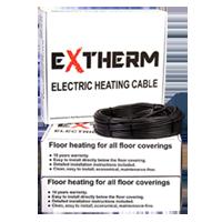 Нагрівальний кабель Extherm ETC ECO 20-1000