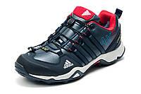 Зимние кроссовки Adidas Terrex мужские, на меху, темно-синие, р. 41 42 43 44 45 46