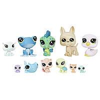 Набор зверюшек-малышей Cabin Crew, Littlest Pet Shop, Hasbro