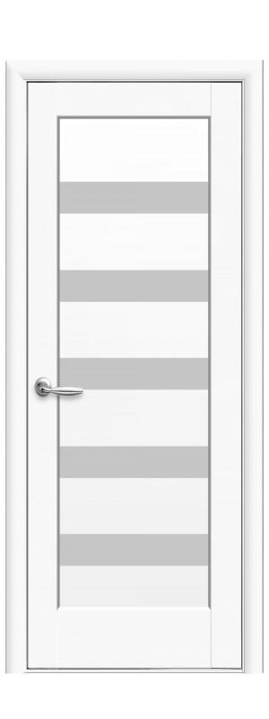 Межкомнатные двери Гамма белый мат