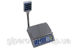 Весы торговые Вагар VP-L до 30 кг, LCD (жидкокристаллический), со стойкой