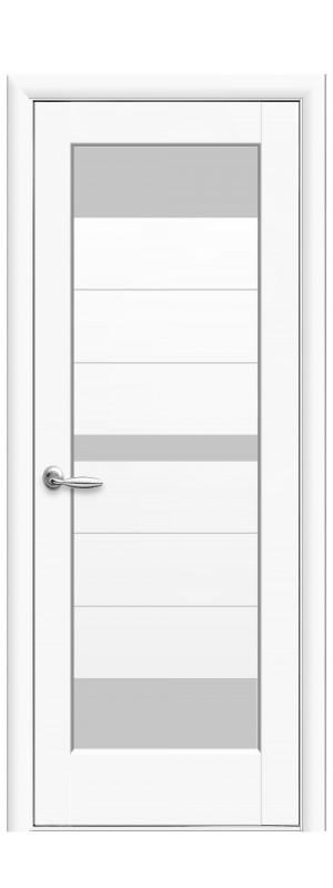Межкомнатные двери Линда белый мат