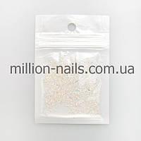 """Cтразы для дизайна ногтей """"Пикси"""" хрусталь 1500 шт."""