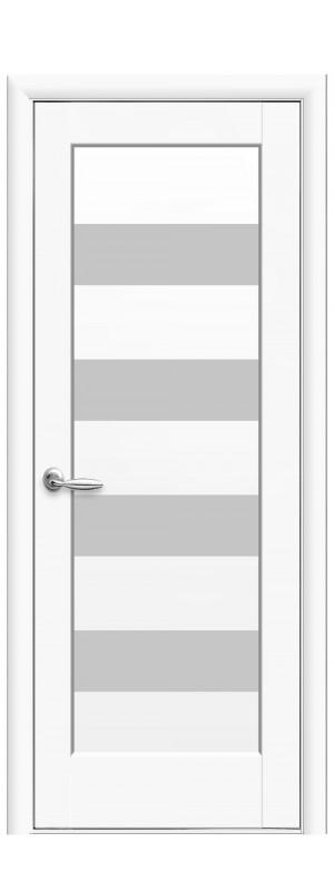 Межкомнатные двери Оливия белый мат