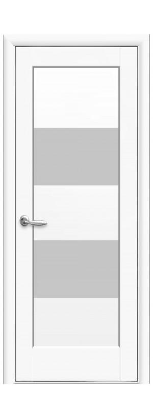 Межкомнатные двери Бьянка белый мат