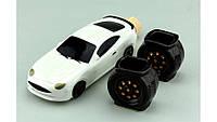 Коньячный набор авто мини спорт белый
