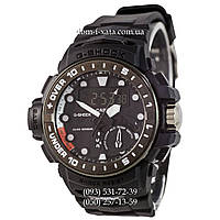 Электронные часы Casio G-Shock GWN-1000 Black-White, спортивные часы Джи Шок черный-белый